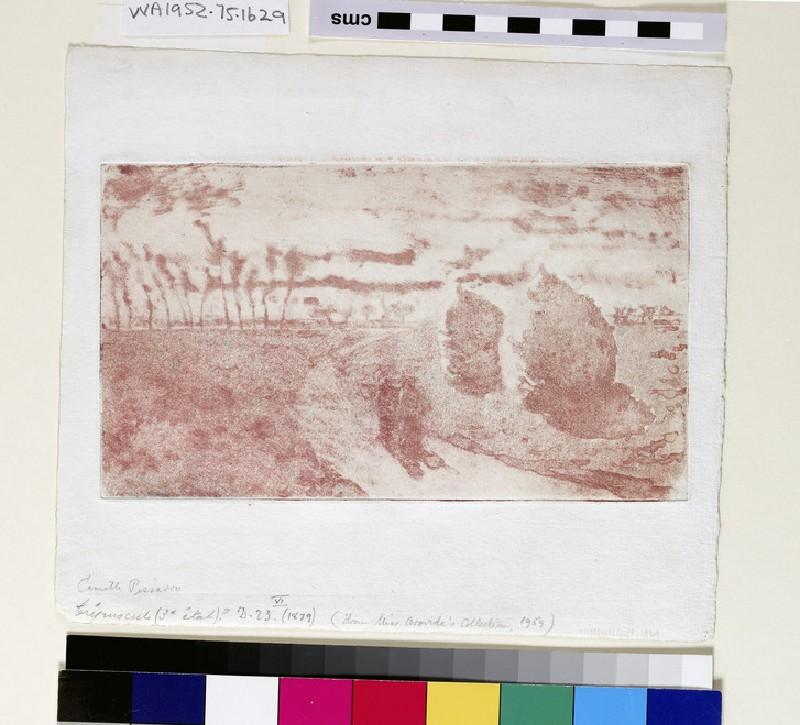 Crépuscule (avec Meules) (WA1964.75.1629)