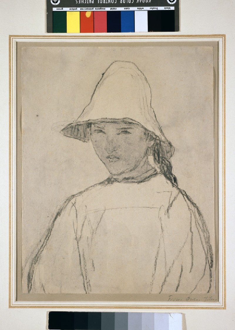 Girl in a Hat (Odette Litalien) (WA1964.84.4)