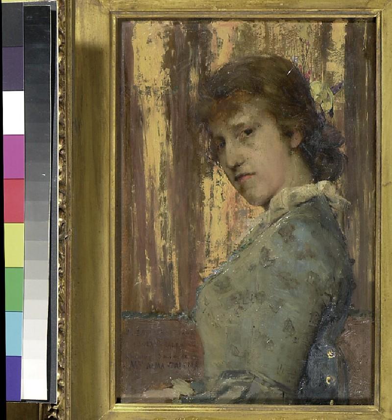Portrait of Laura Alma-Tadema (WA1965.25.2)
