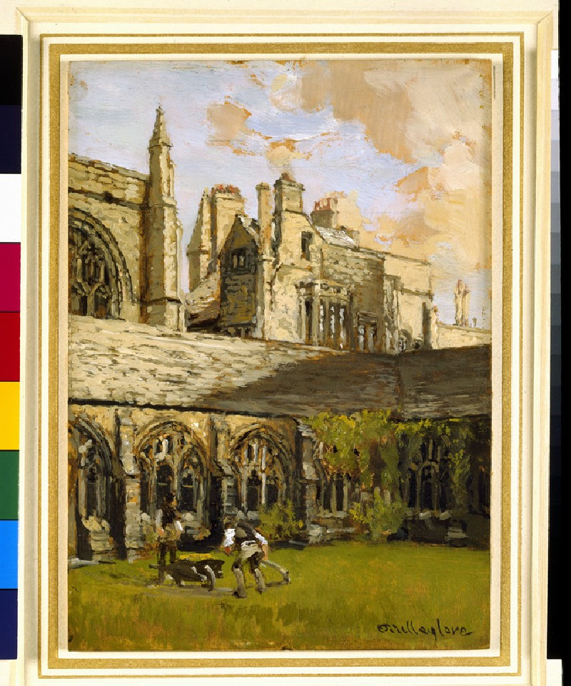 Cloisters at New College, Oxford (WA1965.44.9)