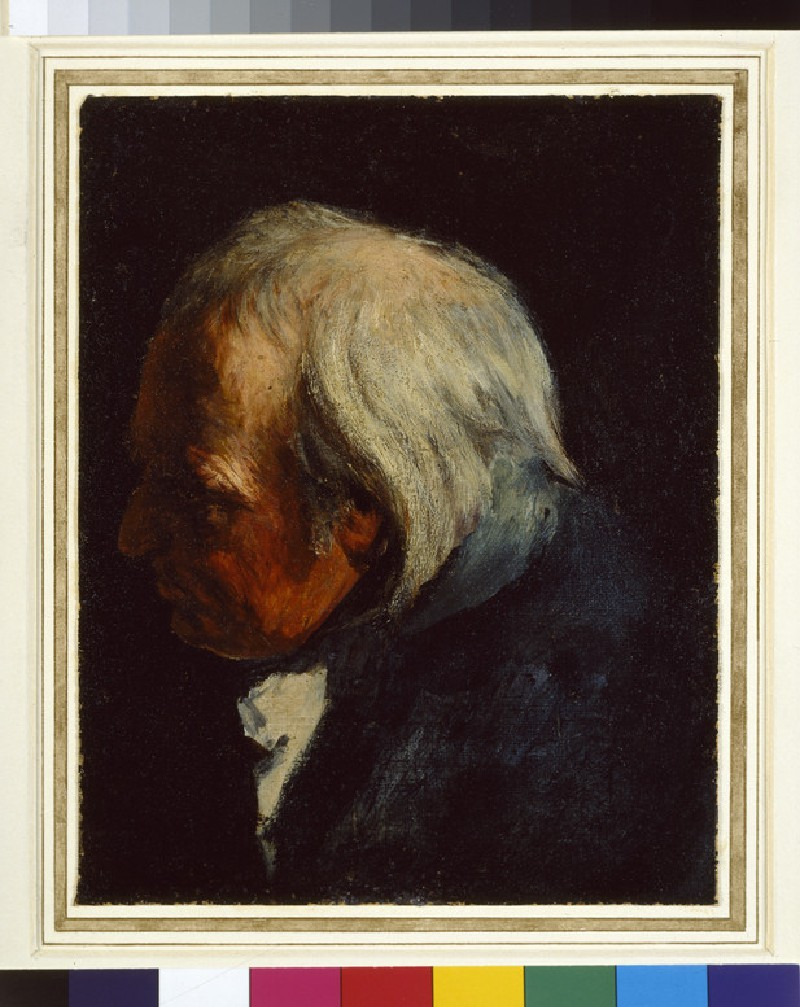 Study of the Head of the old Lieutenant (WA1966.37)