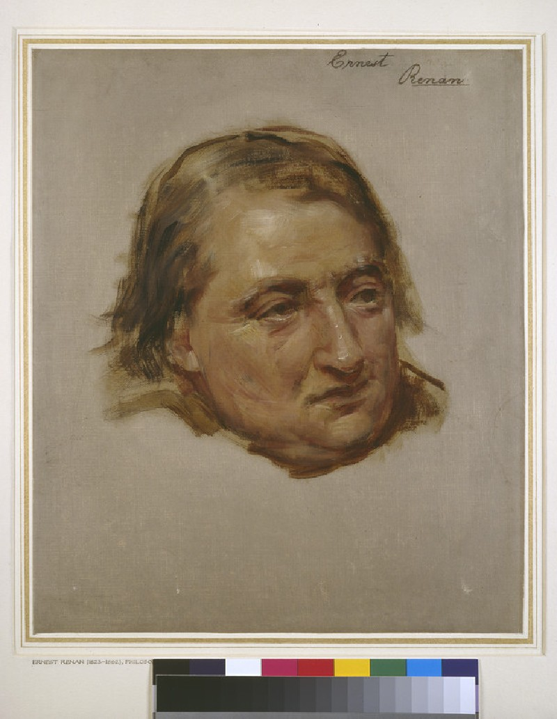 Study for the Portrait of Ernest Renan (WA1966.51)