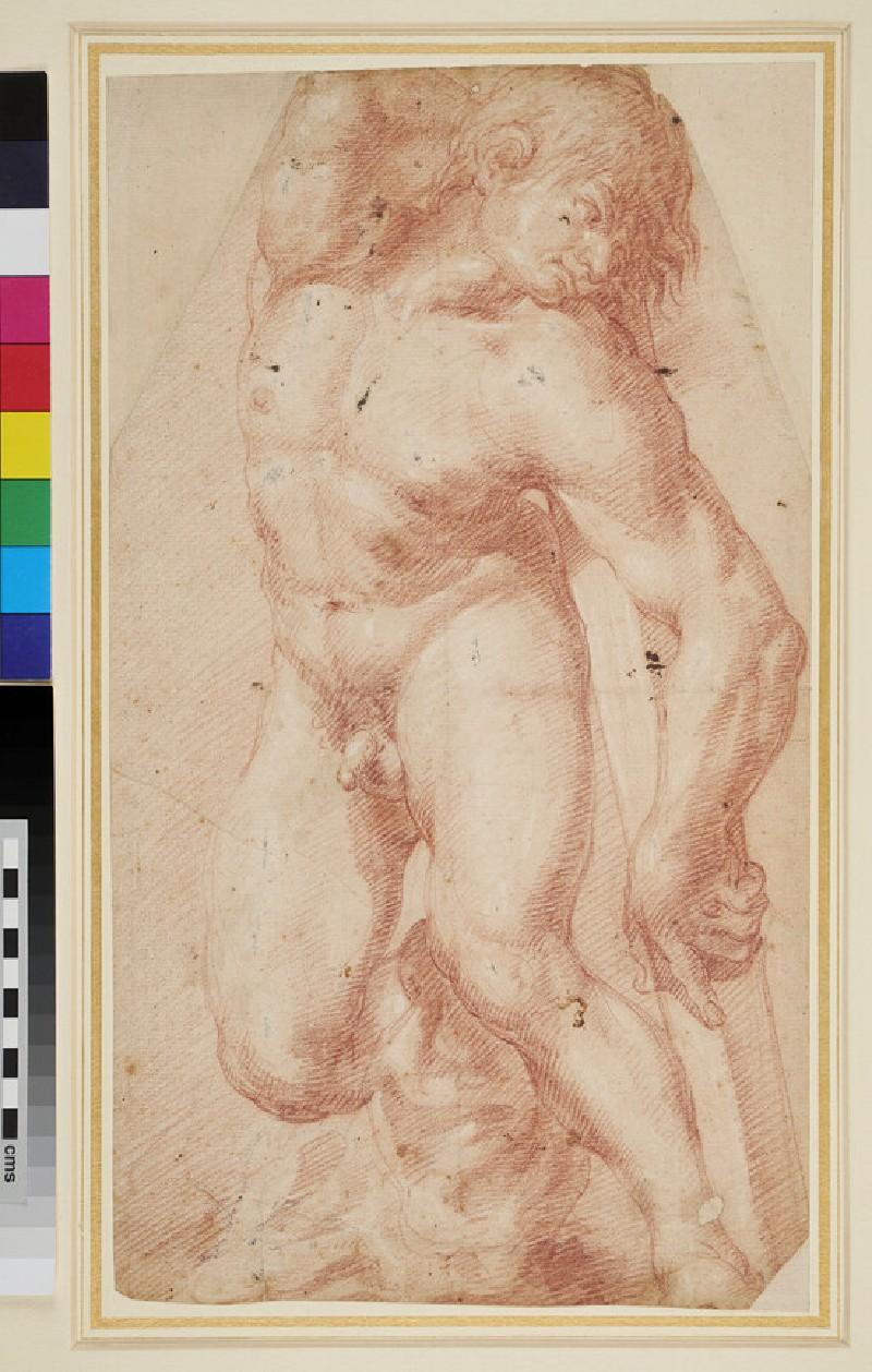 Study of a Nude Man (WA1966.66.4, recto)