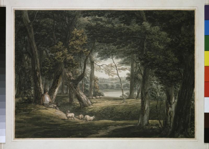 In the Park of Sir Gerard Vanneck at Heveningham Suffolk
