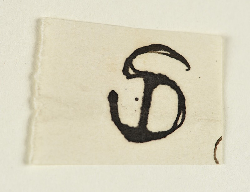 Initial 'SD' for Sophie Dalrymple
