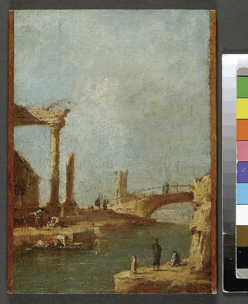 Capriccio: Ruins and a Bridge
