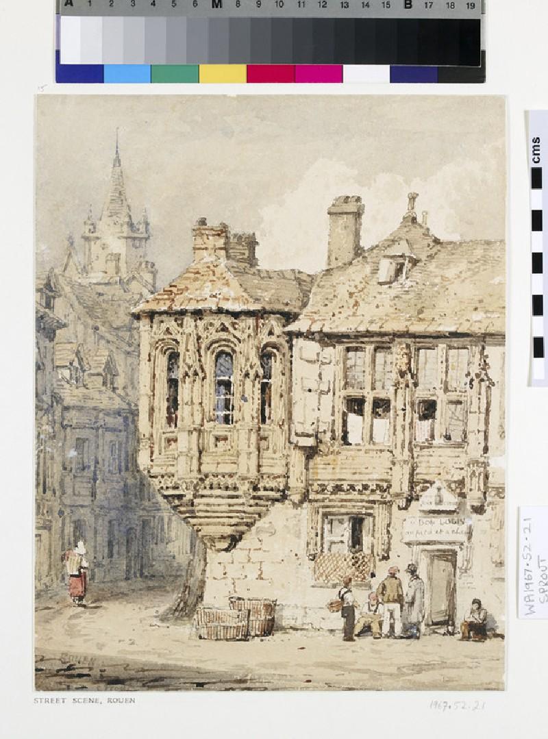 Street Scene in Rouen