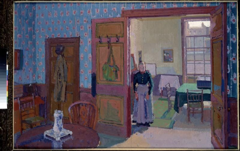 Interior with Mrs Mounter (WA1968.20)