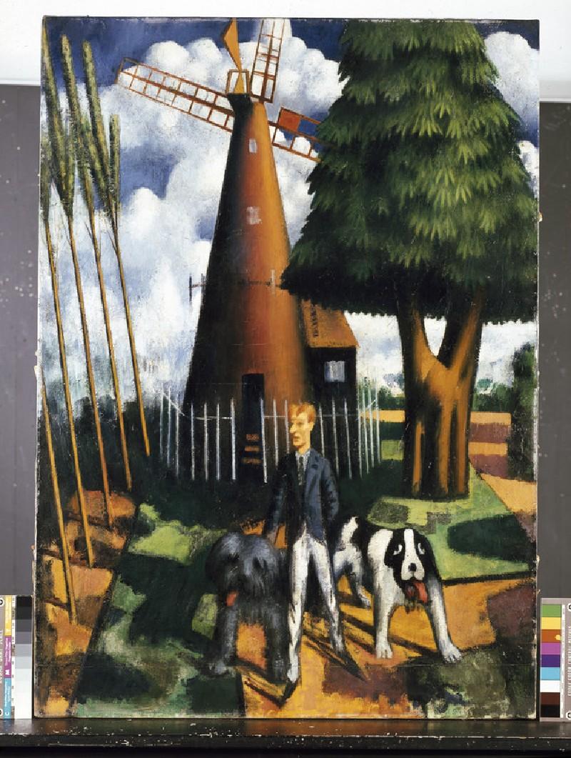 Gilbert Cannan and his Mill (WA1968.24)