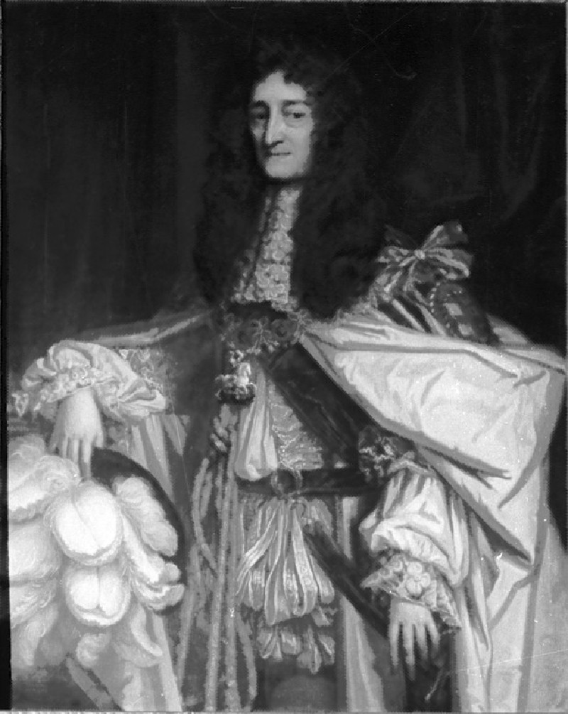 Prince Rupert of the Rhine in Garter Robes