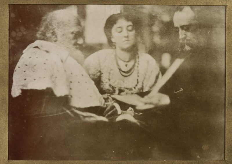 Henry Thoby Prinsep, Lady Dalrymple (Sophia Ricketts) and George Frederic Watts