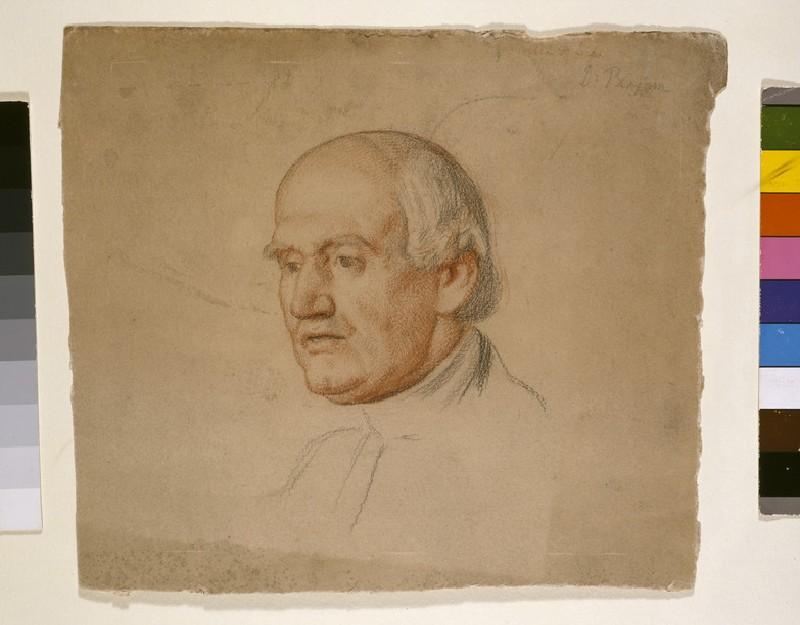 Portrait of Dr Bloxam