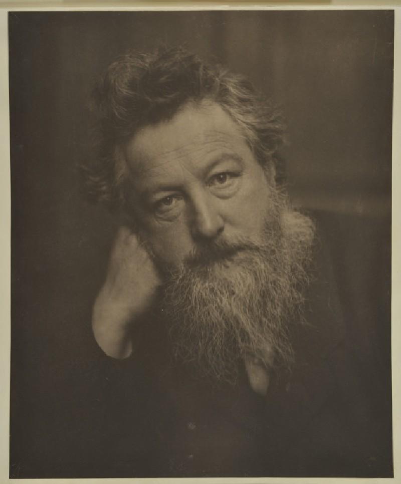 Portrait of William Morris (WA1971.106)