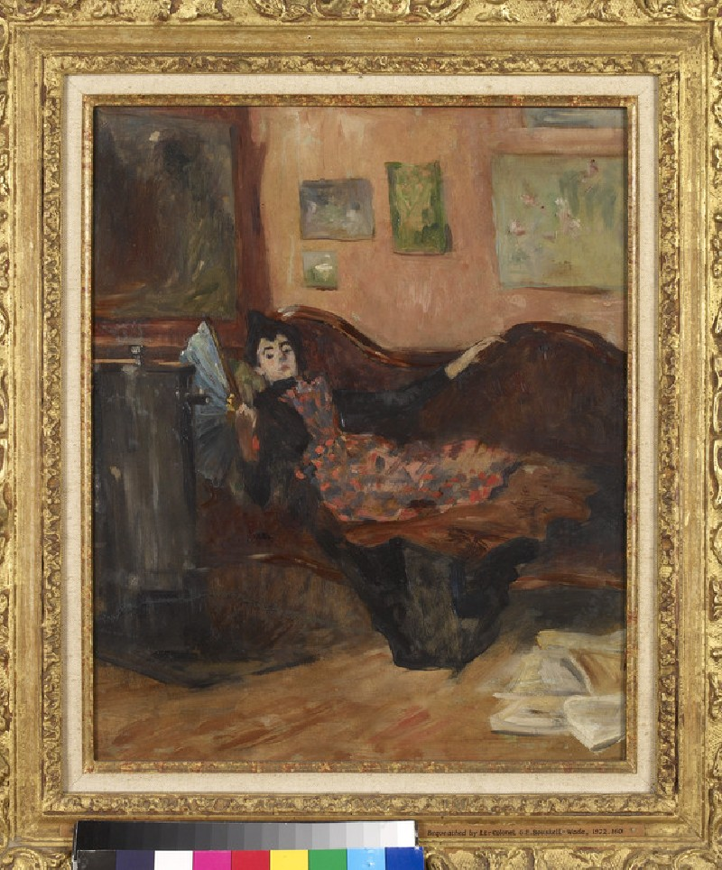 Woman on a Chaise-Longue (WA1972.160)