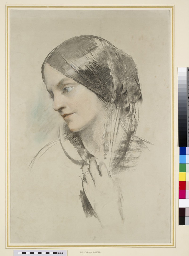Portrait study of Lady Eastlake (1809-1893)