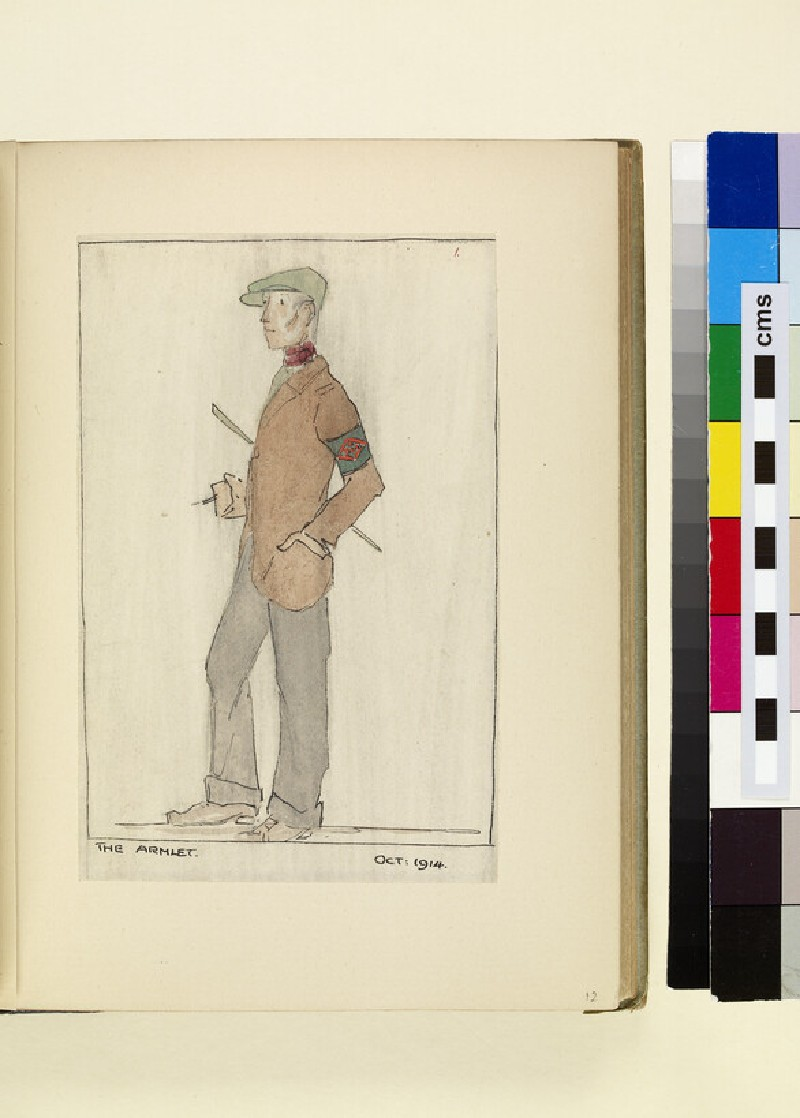 The Costumes and Uniforms of the British Army, 1914-1915: The Armlet, October 1914