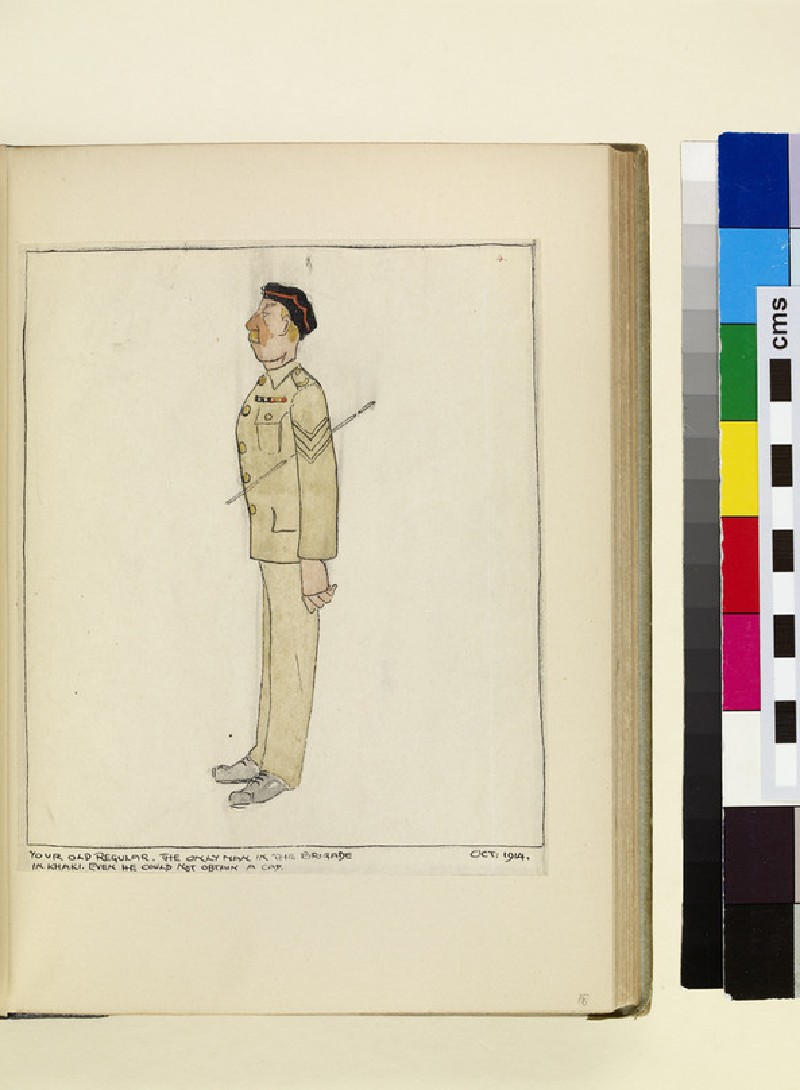 The Costumes and Uniforms of the British Army, 1914-1915: Your Old Regular (WA1975.101.18)