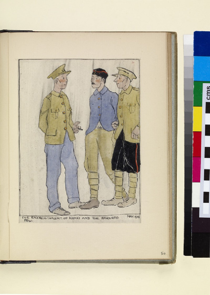 The Costumes and Uniforms of the British Army, 1914-1915: The encroachment of khaki and the favoured few, May 1915