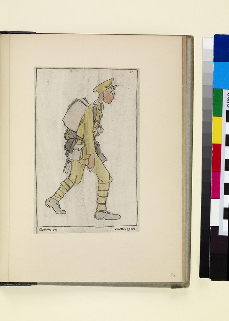 The Costumes and Uniforms of the British Army, 1914-1915: Complete, June 1915