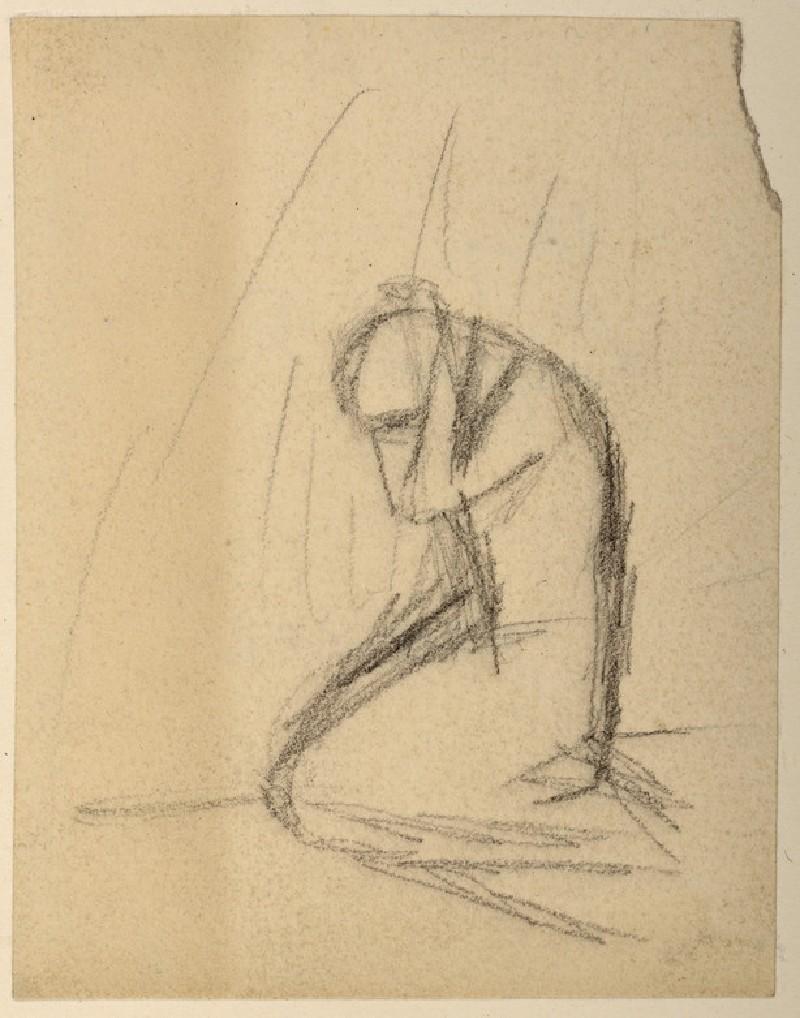 A Kneeling Woman
