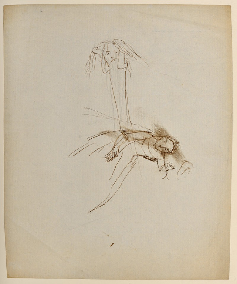 A Woman and a Spectre (WA1977.104)