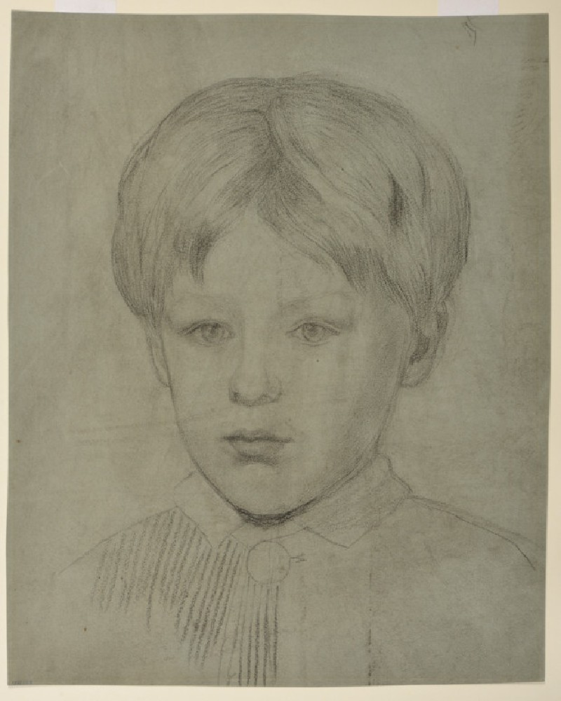 Portrait of Oliver Madox Brown