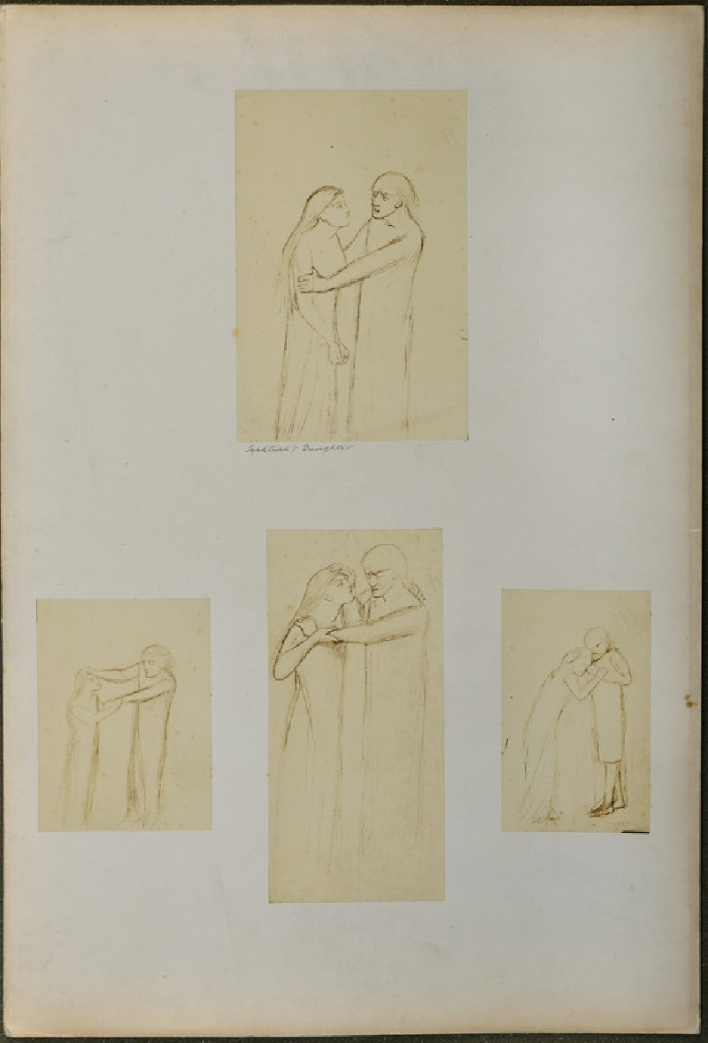Studies for 'Jephthah's Daughter' (WA1977.355.10)