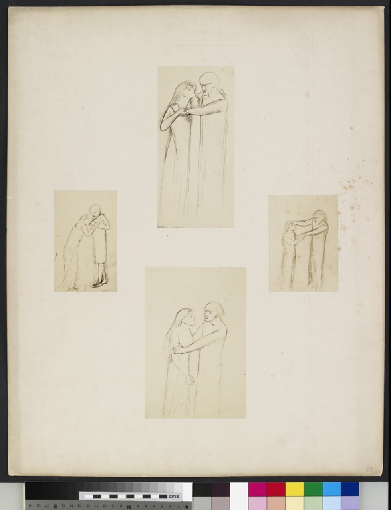 Studies for 'Jephthah's Daughter'