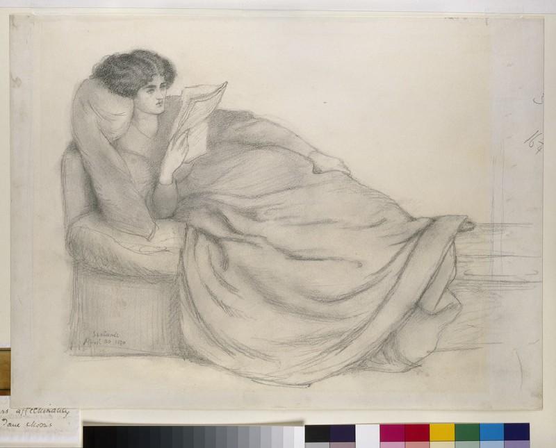 Portrait of Mrs William Morris (Jane Morris)