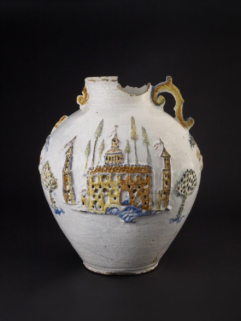 Armorial jar (WA1978.183)