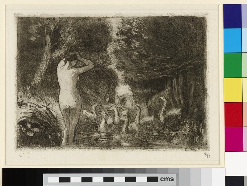 Baigneuse aux oies (Bather with Geese)