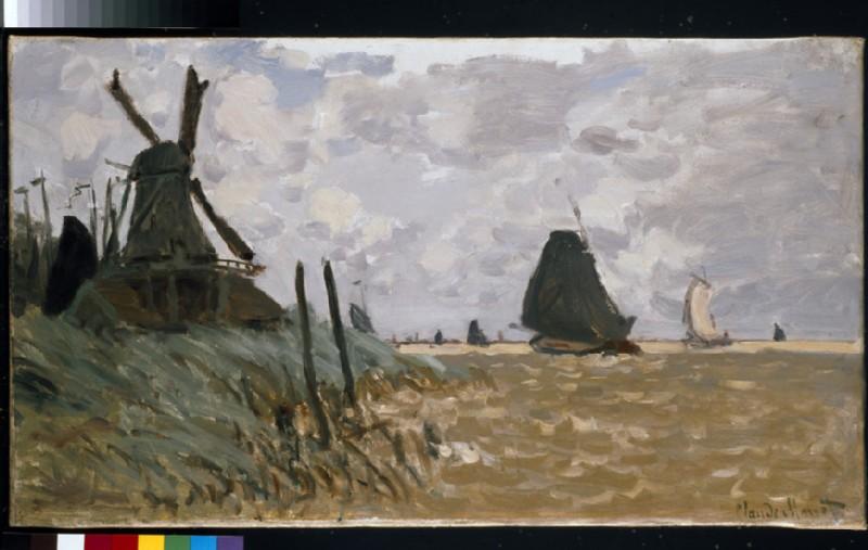 A Windmill at Zaandam (WA1980.81)
