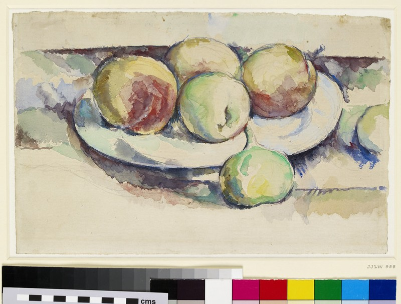 Still Life of Peaches and Figs (WA1980.82)