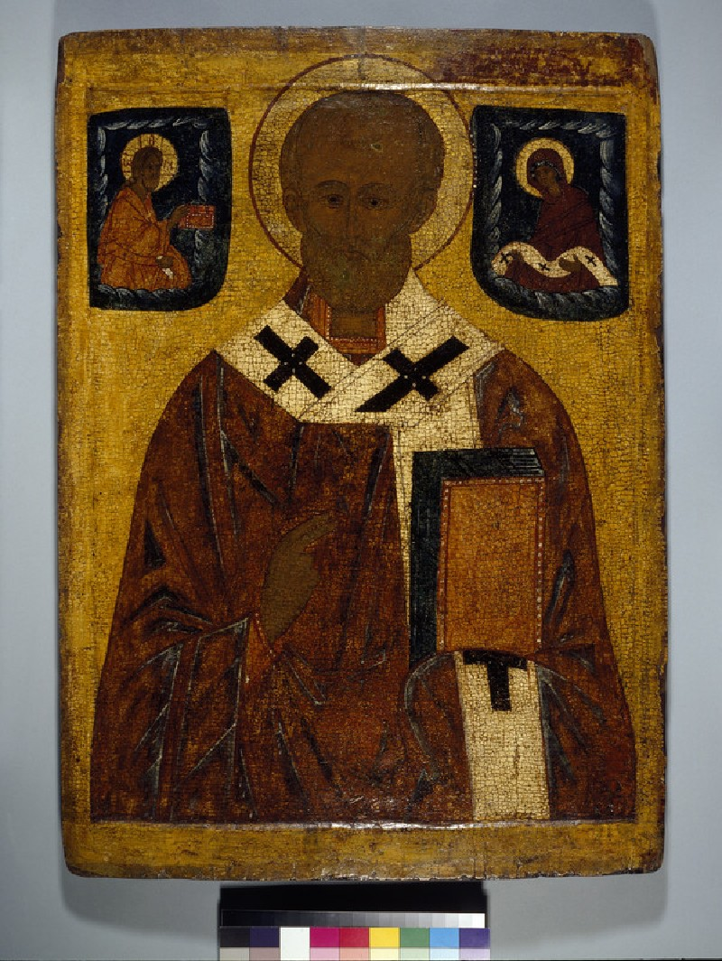 Icon of St Nicholas (WA1982.193)
