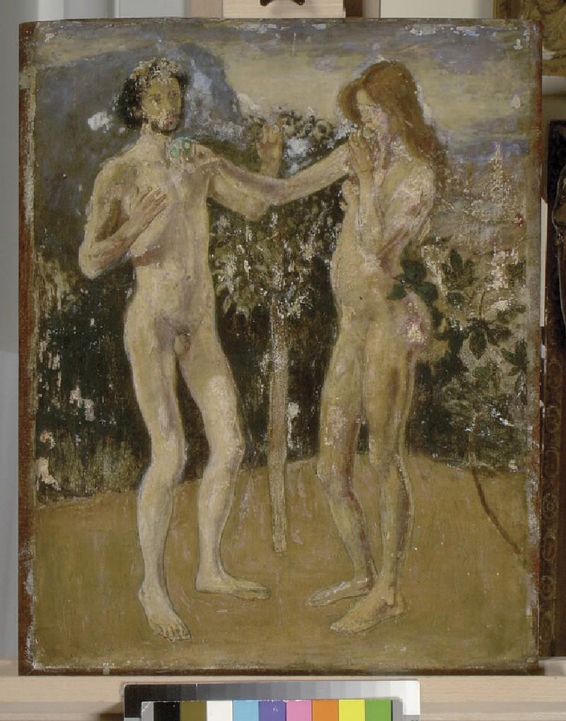 Adam and Eve (WA1983.54)