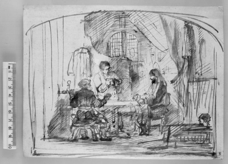 Supper at Emmaus (WA1987.45)
