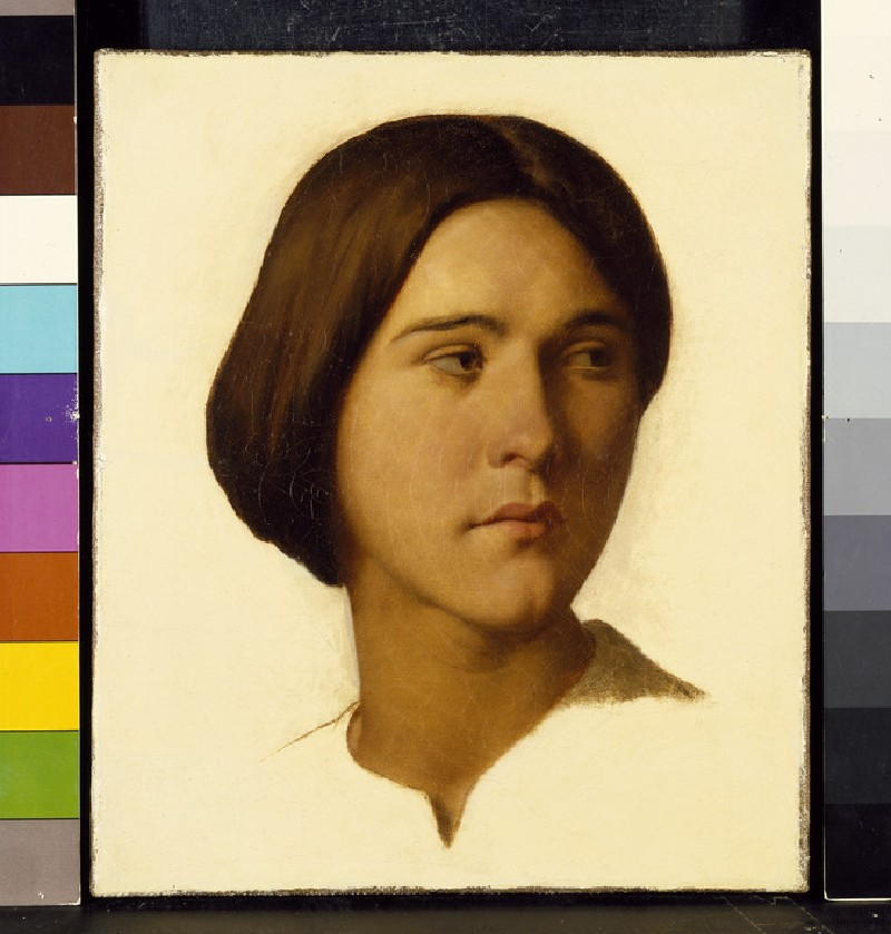 Head Study of a Young Woman looking to her left