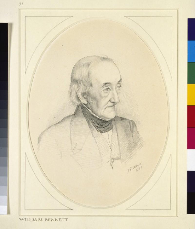 Portrait of William Bennett