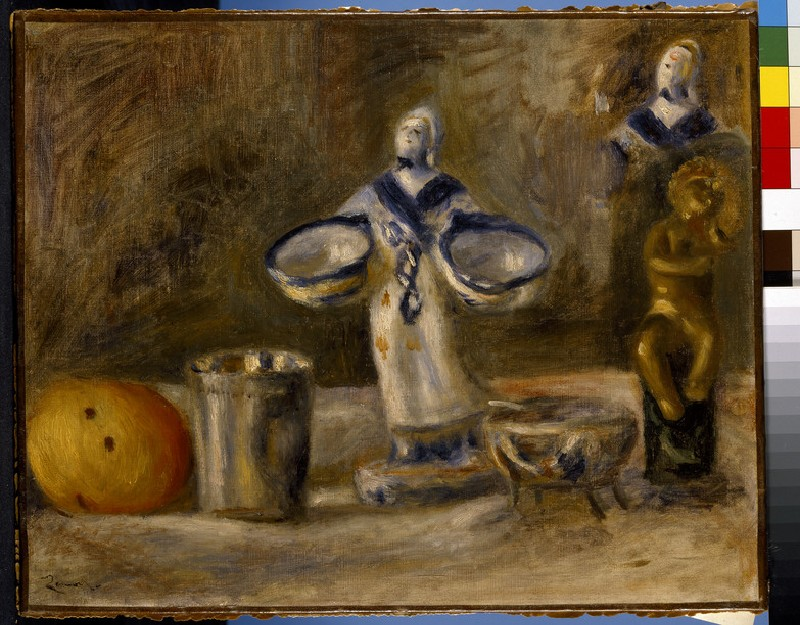 Still life with a faience figure (WA1988.288)