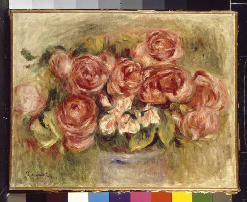 Still Life of Roses in a Vase (WA1988.289)