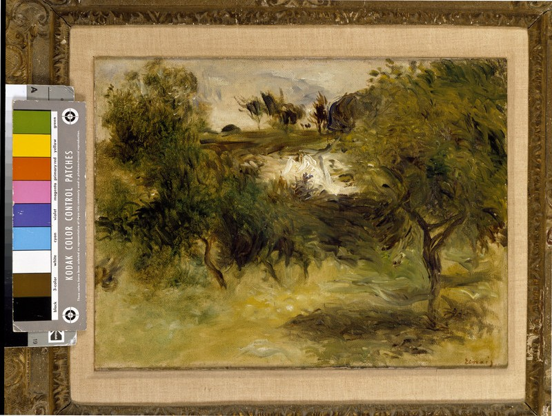Landscape with trees (WA1988.290)