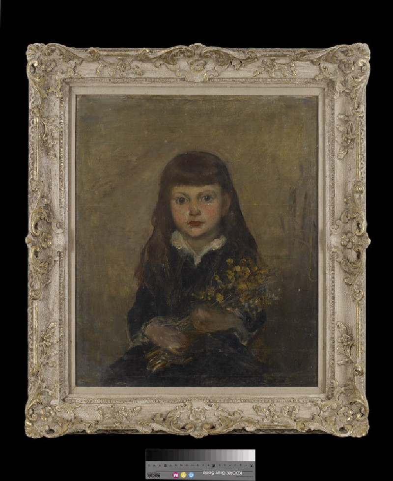 Portrait of Margaret Millicent Fisher Prout, the Artist's daughter