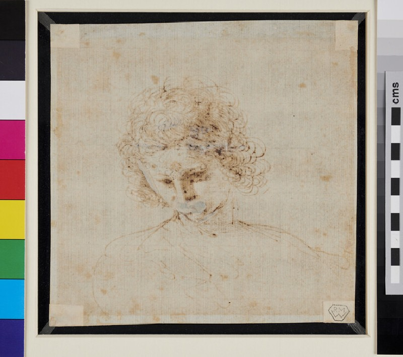 Head of a Youth (WA1990.32, verso)