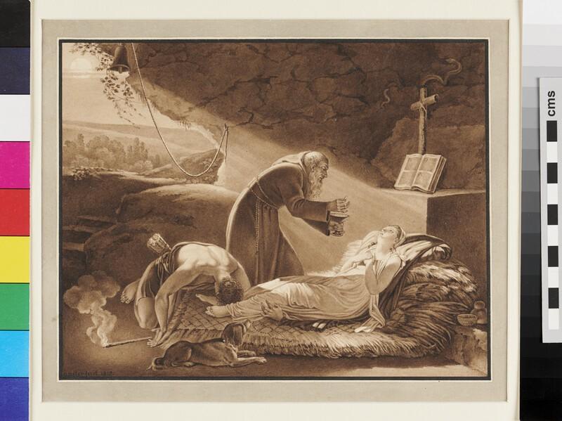 The Death of Atala (WA1991.170, recto)