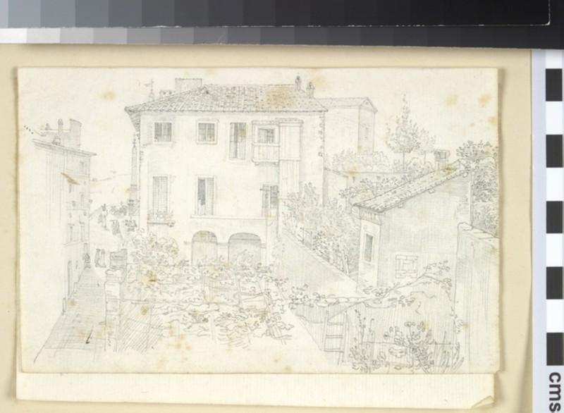View of Via Sistina (WA1991.221)