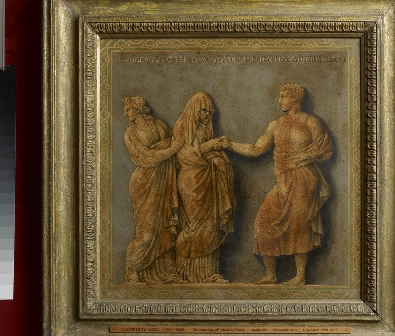 The marriage of Peleus and Thetis in the presence of Juno (WA1991.427)