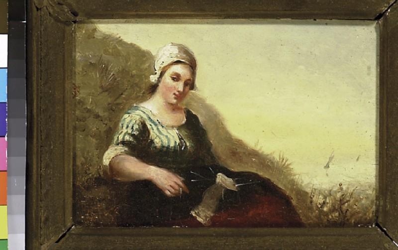 Girl on a Dune (WA1993.419)