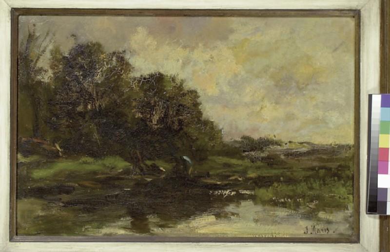 Stormy Landscape, Autumn (WA1993.421)