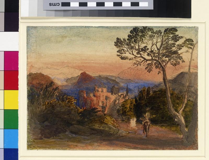 Sunset at Corpo di Cava (WA1995.199, WA_1995_199)