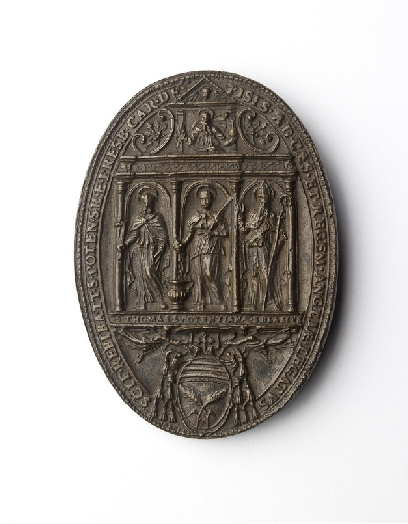 Cast from the seal of Cardinal Scipione Rebiba